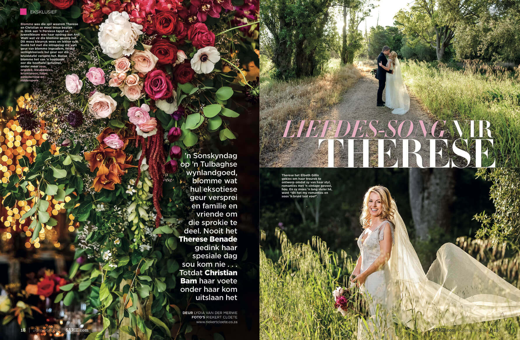 Featured in Sarie (Chris Bam and Therese Benade)
