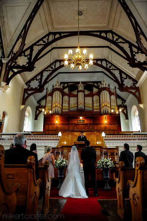STellenbosch wedding ceremony