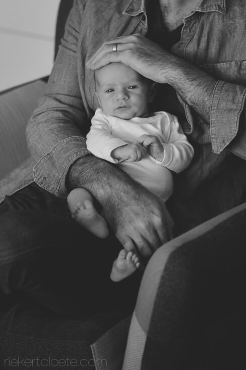 Daddy with baby