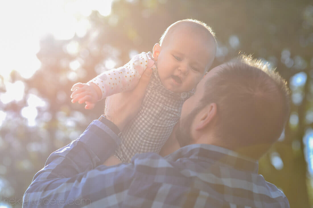 baby and sunlight