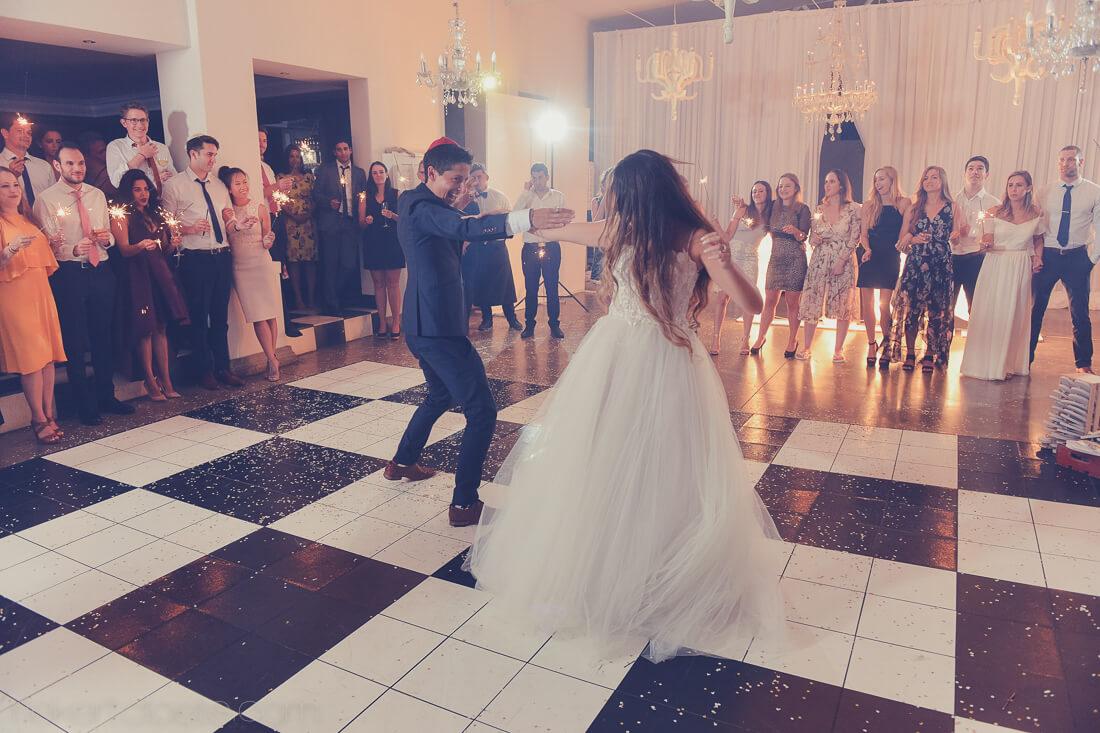 Jewish wedding at MOlenvliet dancing