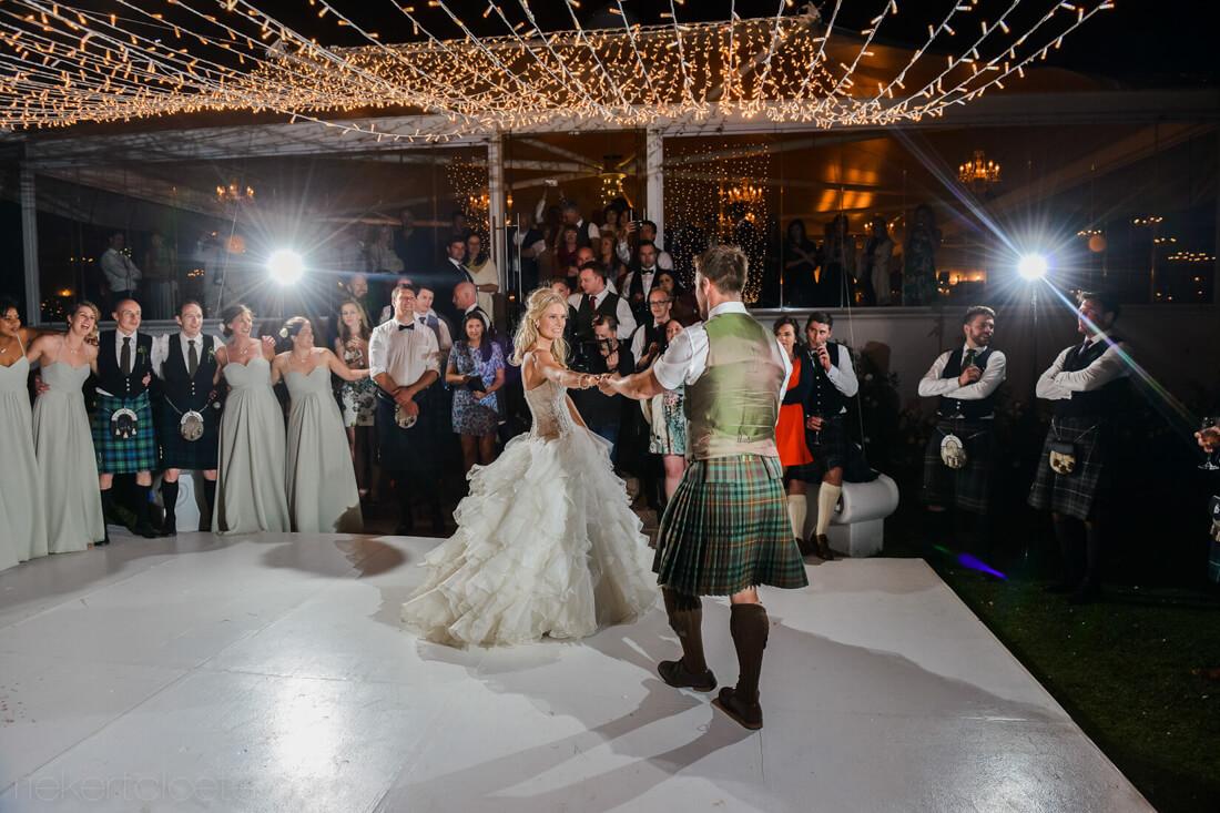 dancing by couple at Vrede en Lust