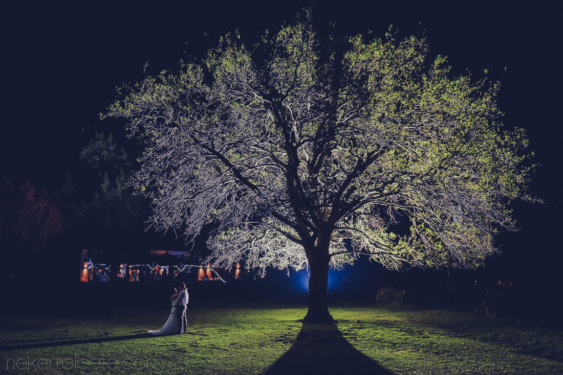 401 Rosendal Wedding at night