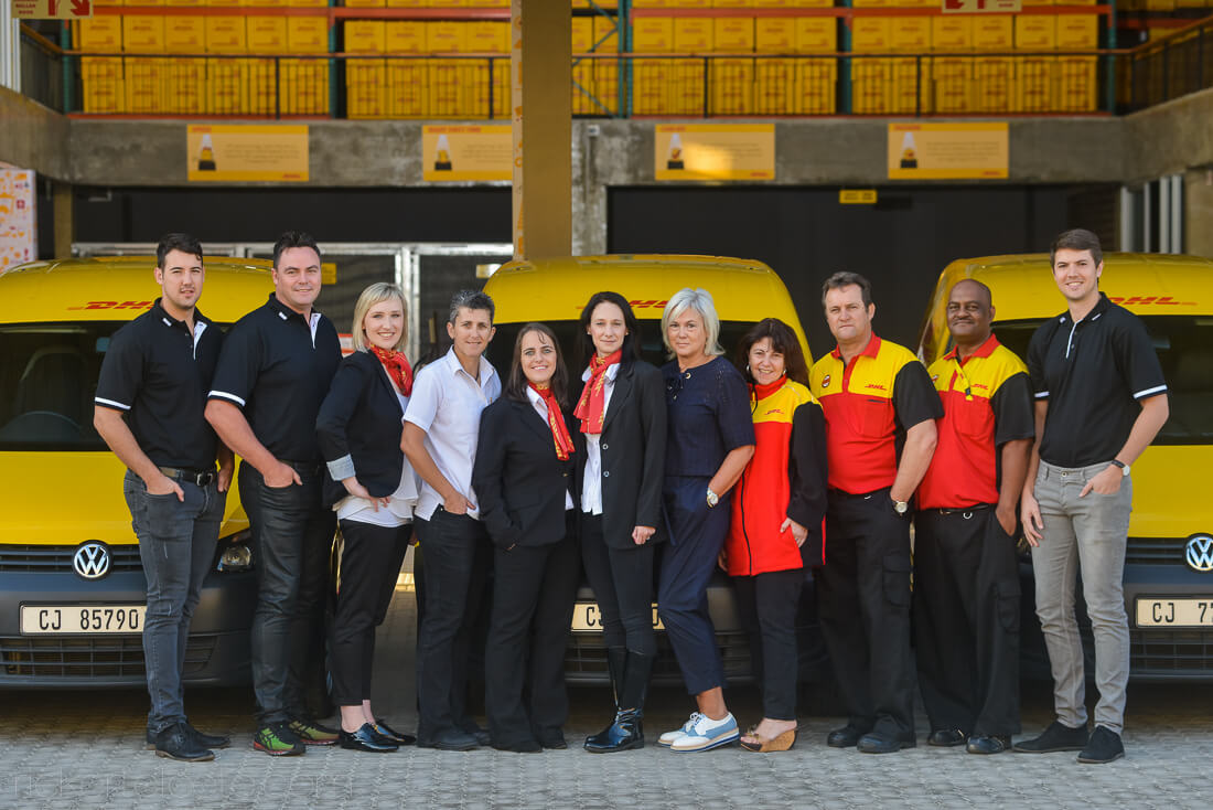 DHL Groupshot