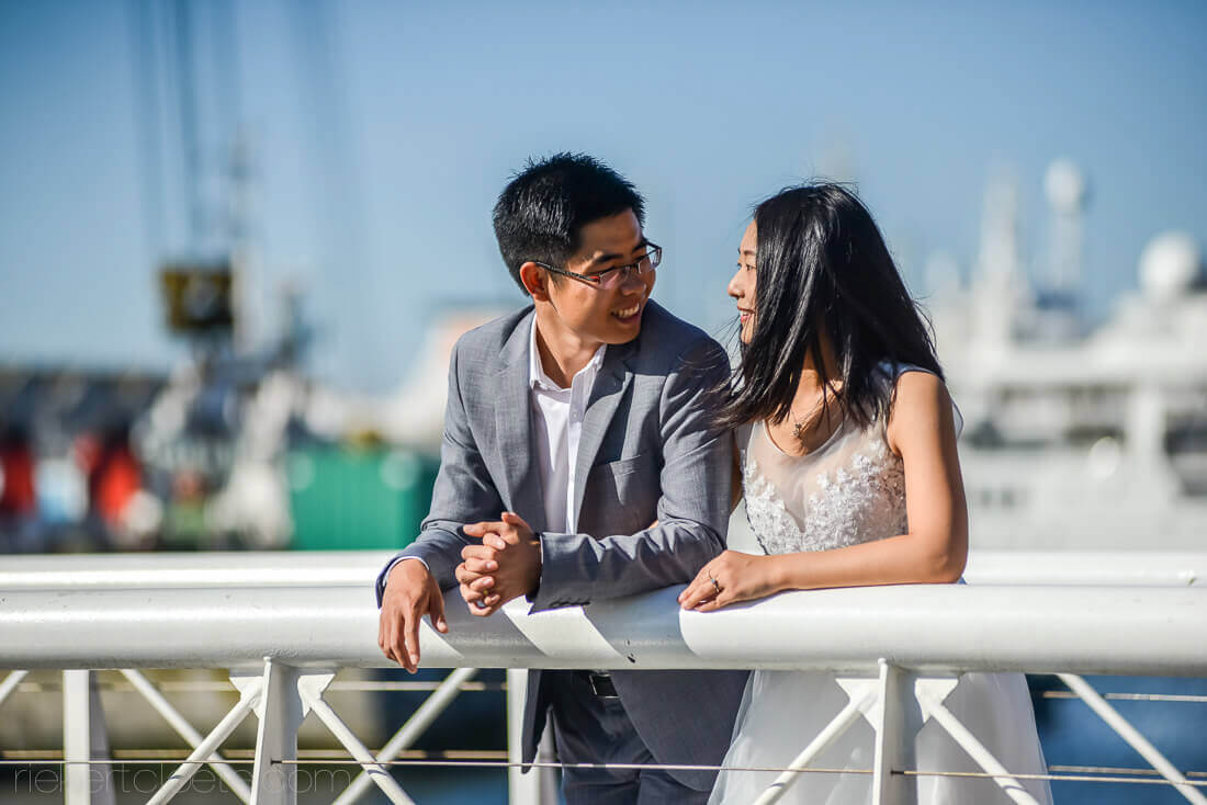 Couple in WAterfront