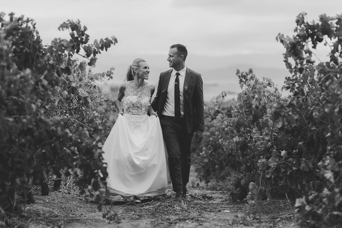 Couple in Vineyards
