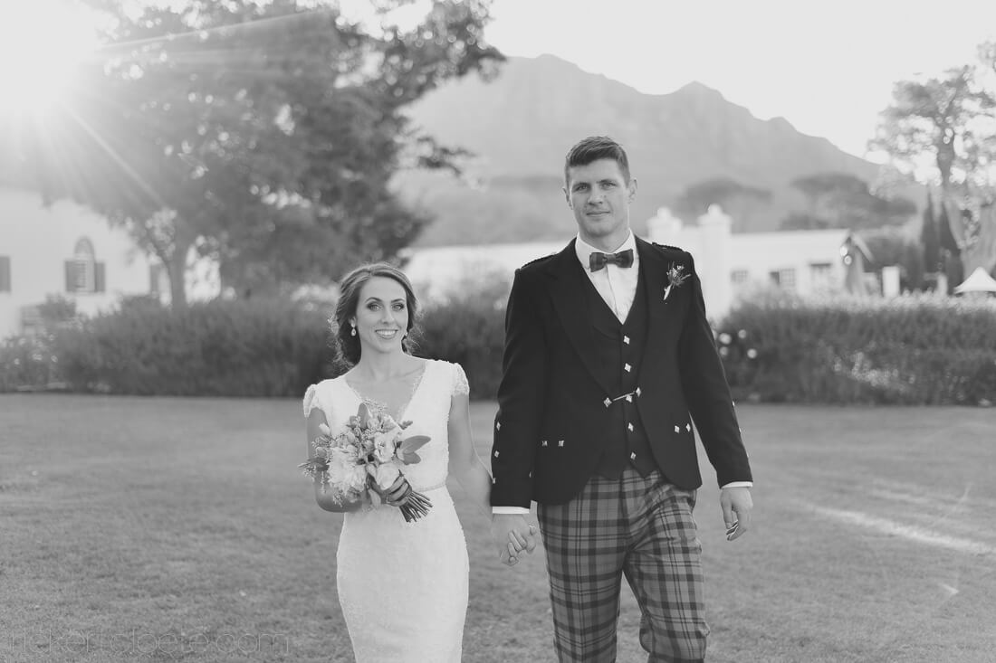 Scottish Wedding in South Africa