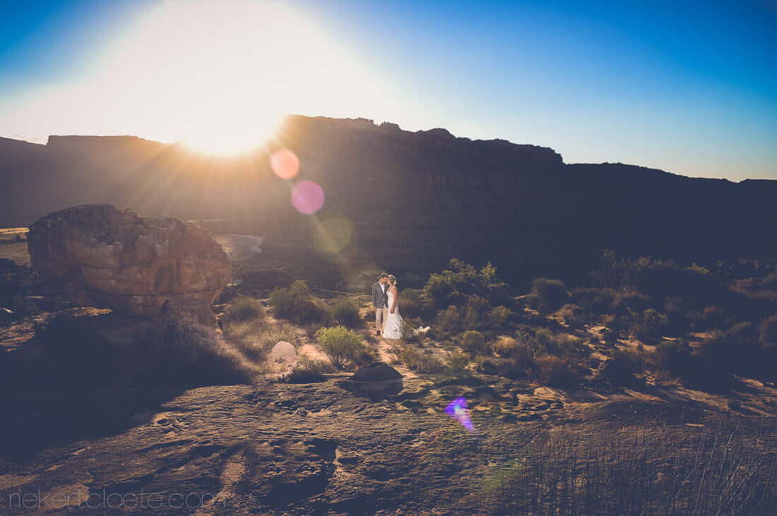 Cederberg wedding couple