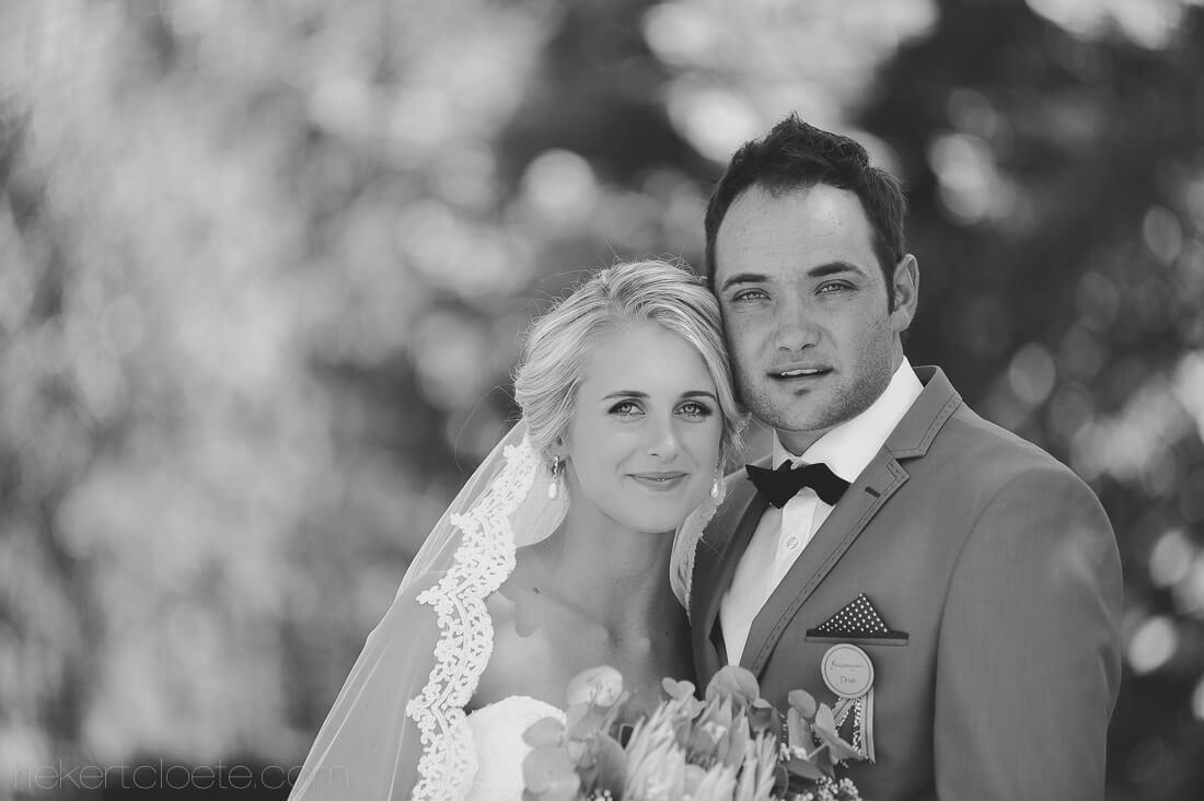 Couple enjoying their wedding