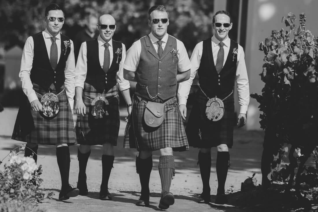 Scottish wedding VRede and Lust