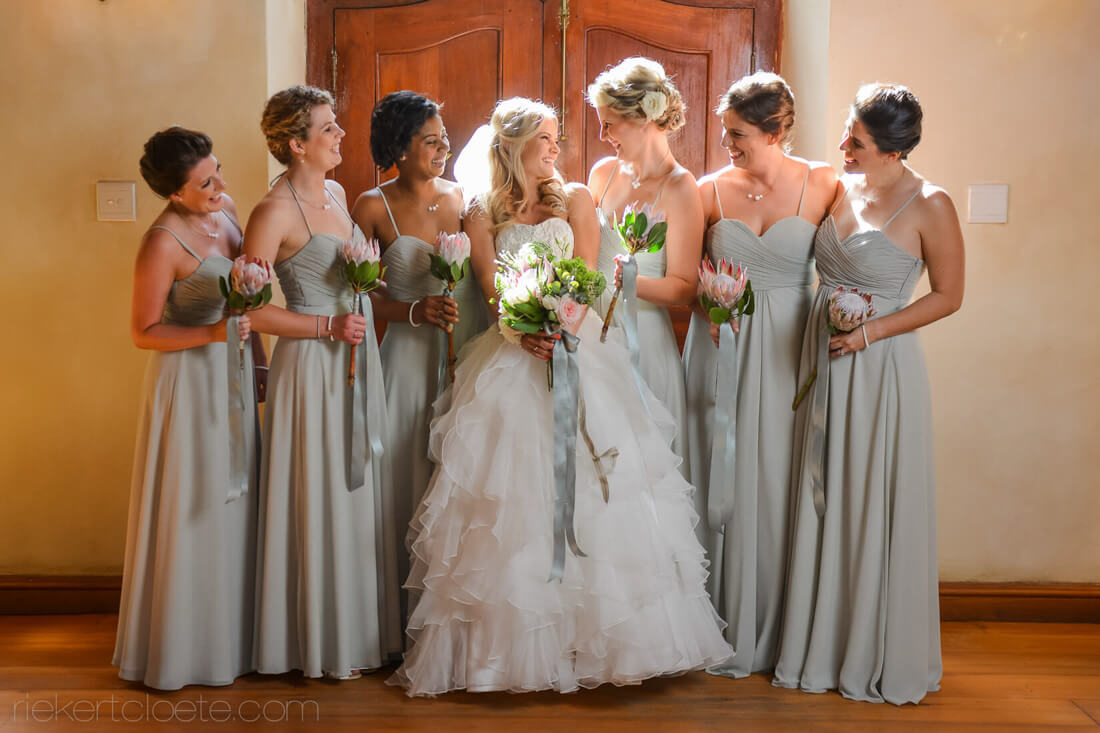 Bridesmaids at Vrede and Lust