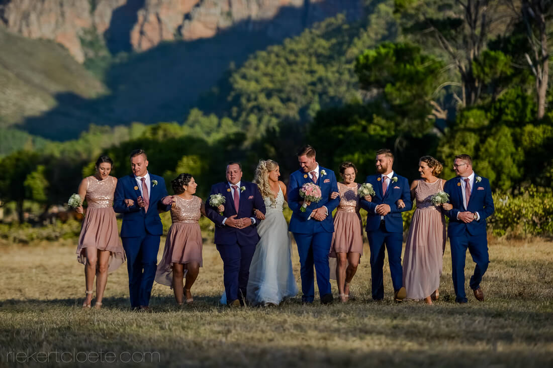 Mountain Shadows wedding party