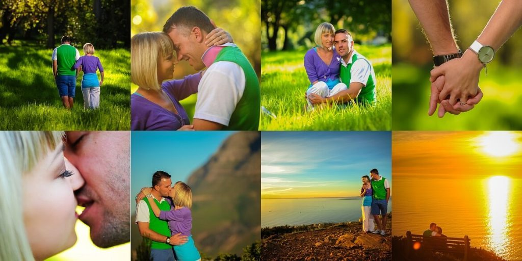 Engagement shoot Table Mountain