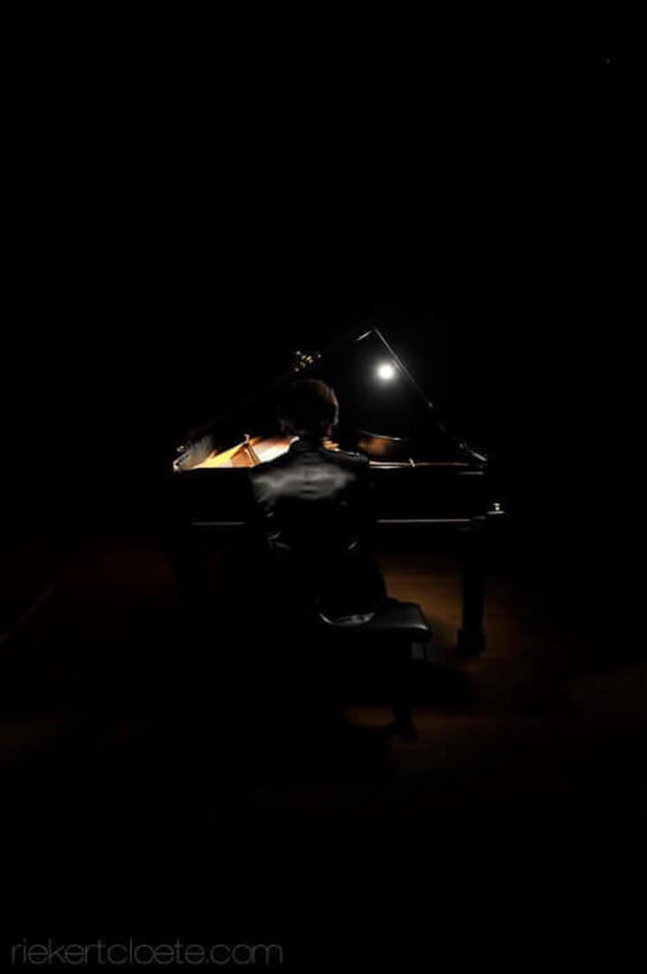 musician playing