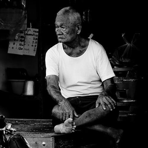 Man in Phuket