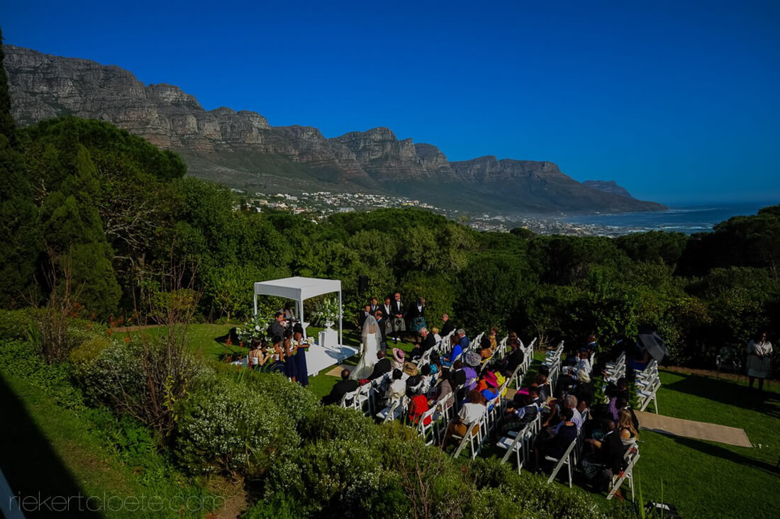 Ceremony in Campsbay