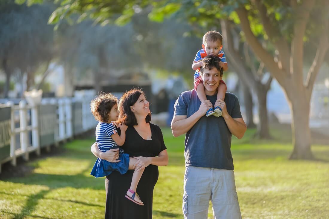 Family Shoot – The Dunns (Dubai)