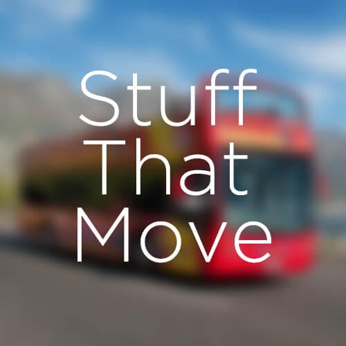 Stuff that move
