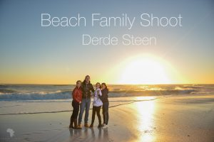 Family shoot on beach