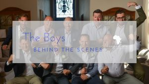 Behind the scenes The boys