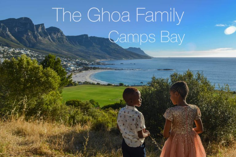 Family shoot in Camps Bay Cape town