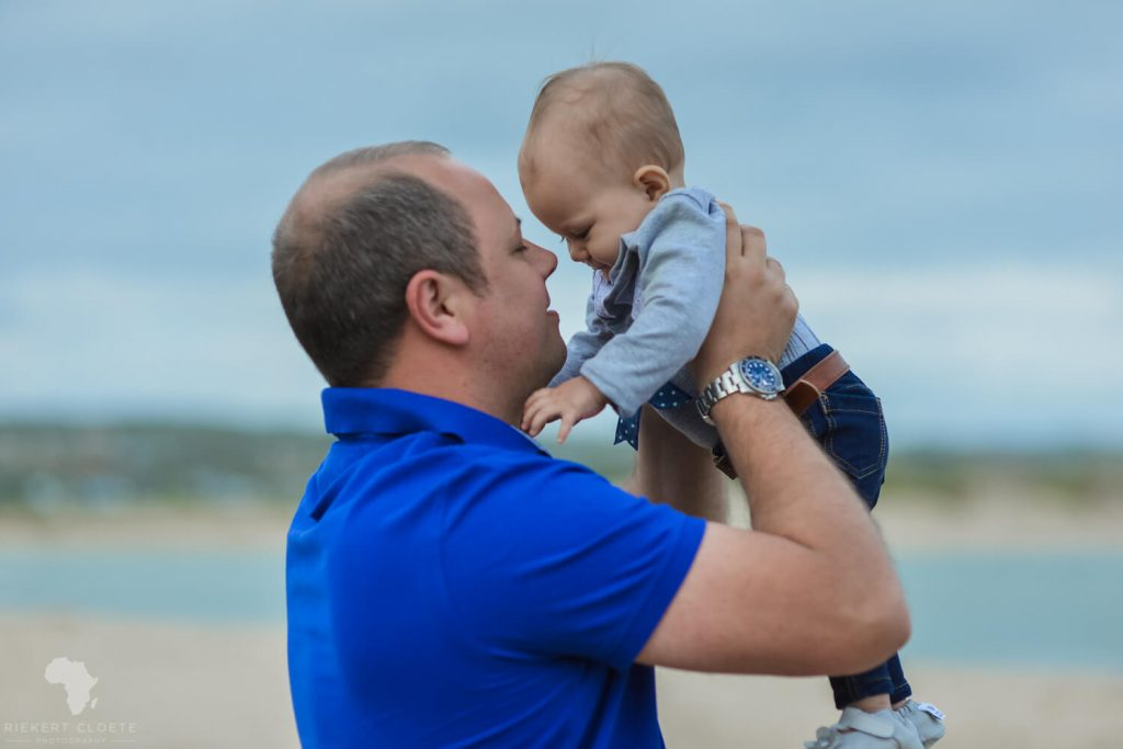 Dad and boy