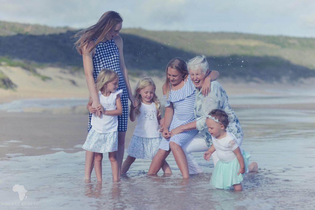GRandma with grand kids