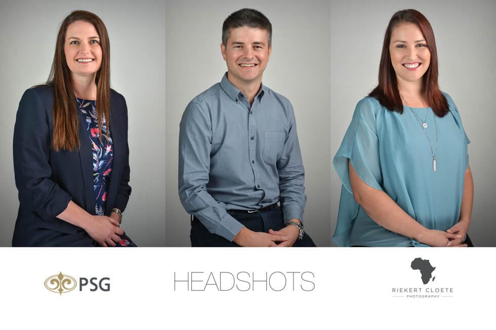 Corporate headshots for website